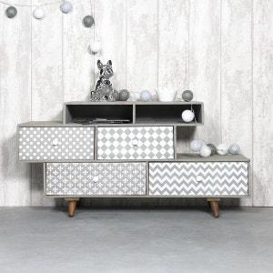 meuble tv meuble tv design blanc d 39 angle la redoute. Black Bedroom Furniture Sets. Home Design Ideas