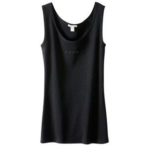 Vest Top with Rhinestone Esprit Logo ESPRIT