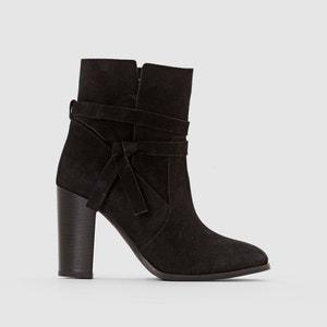 Boots pelle dettaglio cinturino La Redoute Collections