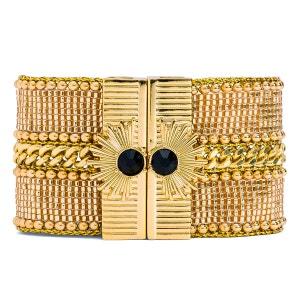 Bracelet femme doré Galate gold HIPANEMA