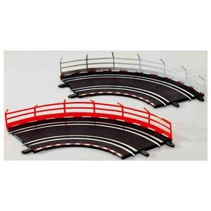 Circuit de voitures Carrera Digital 143 Rails de sécurité : 10 unités CARRERA