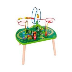 HAPE Le circuit de train et motricité Jungle jouet en bois HAPE