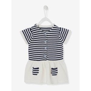 Robe bébé fille en tricot VERTBAUDET