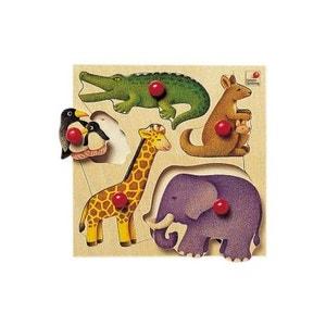 Encastrement 5 pièces en bois : Zoo SELECTA