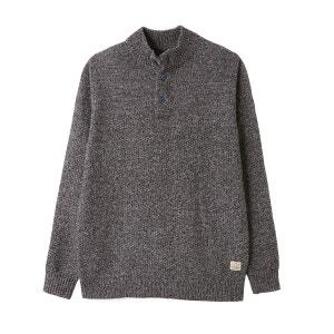 Sweter ze stójką z grubej dzianiny JACK & JONES