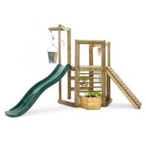 Aire de jeux en bois Discovery Woodland Treehouse PLUM