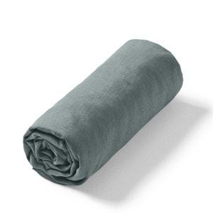Hoeslaken in gewassen linnen, Elina AM.PM.