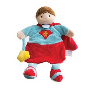 Marionnette super-héros rouge DOUDOU ET COMPAGNIE