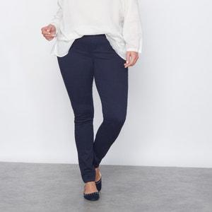 Slim-Fit-Hose, Five-Pocket-Form, Serge CASTALUNA