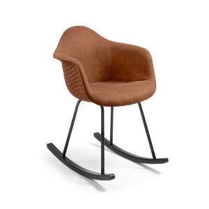 Chaise à bascule Kevya, marron oxyde KAVE HOME