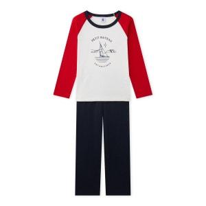 Pyjama garçon sérigraphié PETIT BATEAU