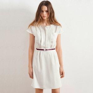 Vestido de mangas curtas atelier R