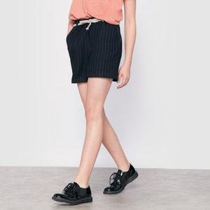 Shorts a righe stile tessuto di lana 10-16 anni R pop