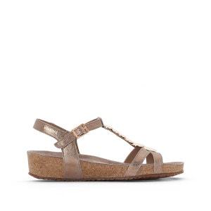 Sandales cuir métallisé Irma MEPHISTO