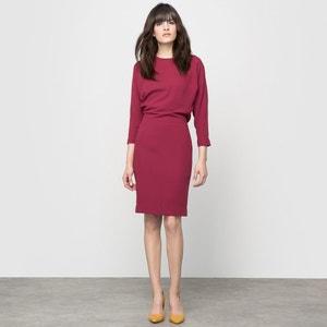 Sukienka z krepy z efektem 2 w 1 atelier R