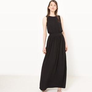 Długa sukienka z dekoltem z tyłu MADEMOISELLE R