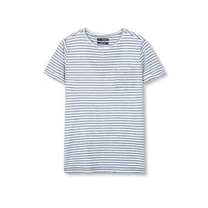 Camiseta a rayas, cuello redondo ESPRIT