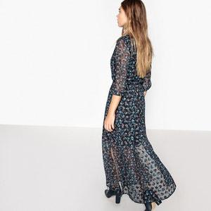 Платье длинное с принтом La Redoute Collections