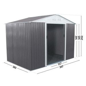 Abri de jardin garage en solde la redoute for Abri jardin 5m2