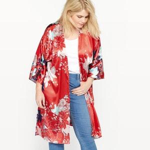 Floral Print Kimono Jacket CASTALUNA