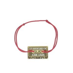 Bracelet avec cassette LA MOME BIJOUX