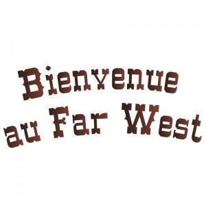 Sticker Cowboys et Indiens : Bienvenue au Far West DECOLOOPIO