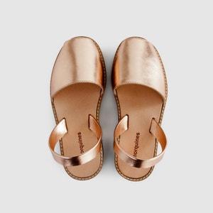 Sandales plates AVARCA METAL MINORQUINES