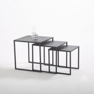 Tables basses gigognes en acier (lot de 3), Hiba La Redoute Interieurs