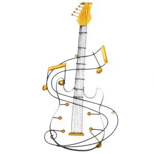 Accroche guitare la redoute for Decoration murale guitare