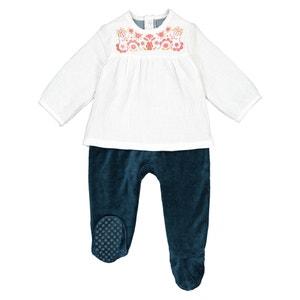 Pyjama met 2 in 1 effect, 0 mnd-3 jaar