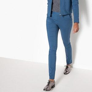 Pantalon droit en coton R essentiel