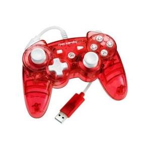 Manette sans fil PDP rouge Rock pour PS3 PDP