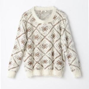 Żakardowy sweter w grochy MOLLY BRACKEN