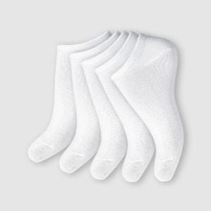 Socquettes en coton (lot de 5) R essentiel