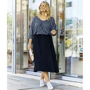 Long Plain Skater Skirt ULLA POPKEN