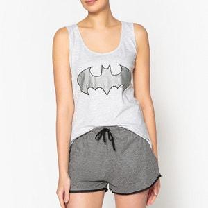 Pijama estampado, parte de cima com top, Batman BATMAN