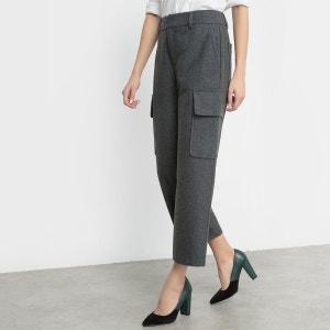 Pantalon battle en flanelle La Redoute Collections