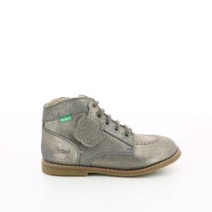 Kids Koukcho Iridescent Leather Boots