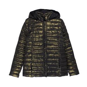 Metallic Look Padded Jacket LE TEMPS DES CERISES
