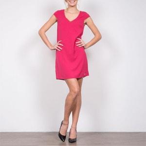 Krótka sukienka z krótkim rękawem, ozdobne detale LPB WOMAN