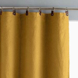 rideau lin jaune la redoute. Black Bedroom Furniture Sets. Home Design Ideas