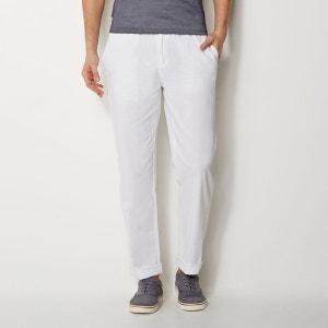 Pantalon droit, taille élastiquée La Redoute Collections