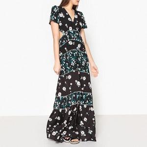 Langes Kleid BLUSH, bedruckt BA&SH
