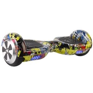 Hoverboard skate électrique 6.5 pouces Smartboard Gyropode 36V Comics Yonis