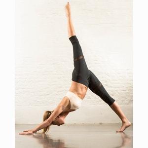 Legging sport 3/4 voile transparent ELLASWEET