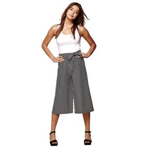 Pantaloni larghi righe YUMI