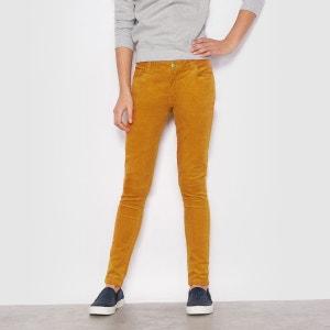Pantalon slim velours 10-16 ans R pop