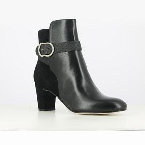 Boots cuir à talon Darissa JONAK