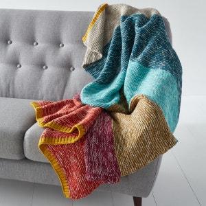 Plaid tricot à rayures Iviza La Redoute Interieurs