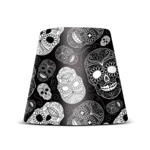 COOPER CAPPIE - Abat-jour Skull Black pour lampe Edison The Petit Ø16cm FATBOY